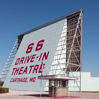 66 Drive-In Theatre, Route 66, Carthage, Missouri