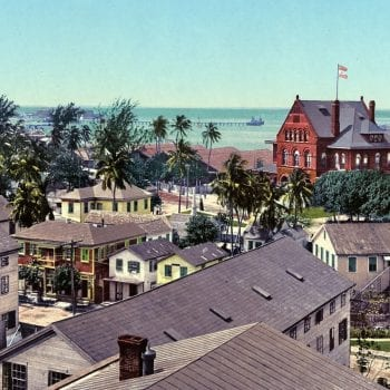 Custom House and Harbor, Key West