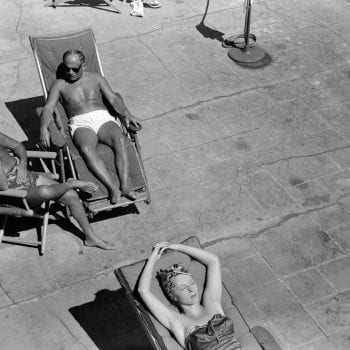 Hotel Patio, Miami Beach 1939