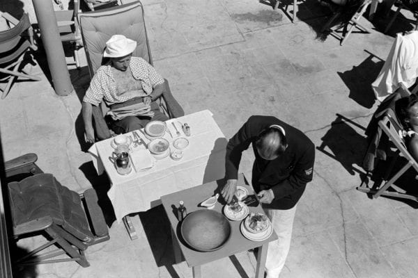 Lunch is Served, Miami Beach Hotel 1938