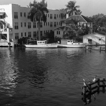 Old Miami Waterfront building