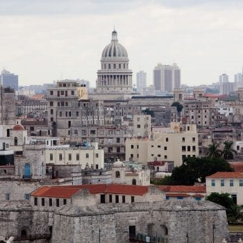 View of Havana, Cuba, from El Morro Fortress