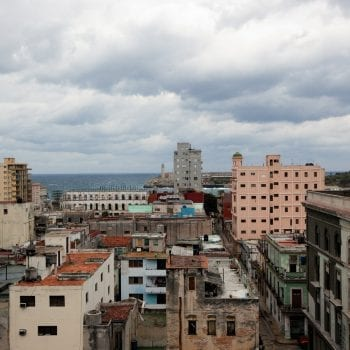 View of Havana, Cuba from Parkview Hotel