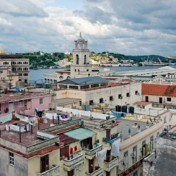View of Havana from Museum of the Revolution