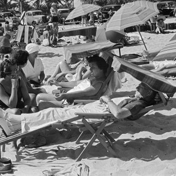 Sunbathing on Miami Beach (1939)